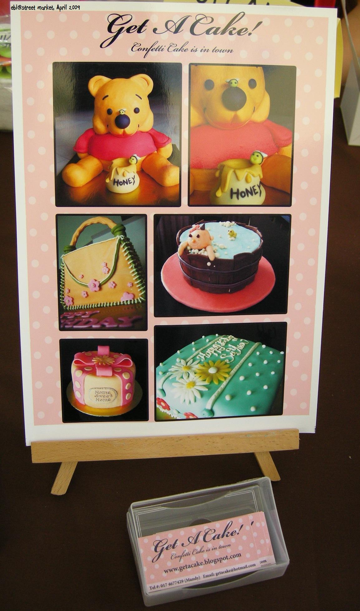 缤纷色彩的蛋糕,但是吸引不了我。