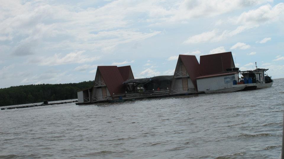 我們住的海上休閒屋