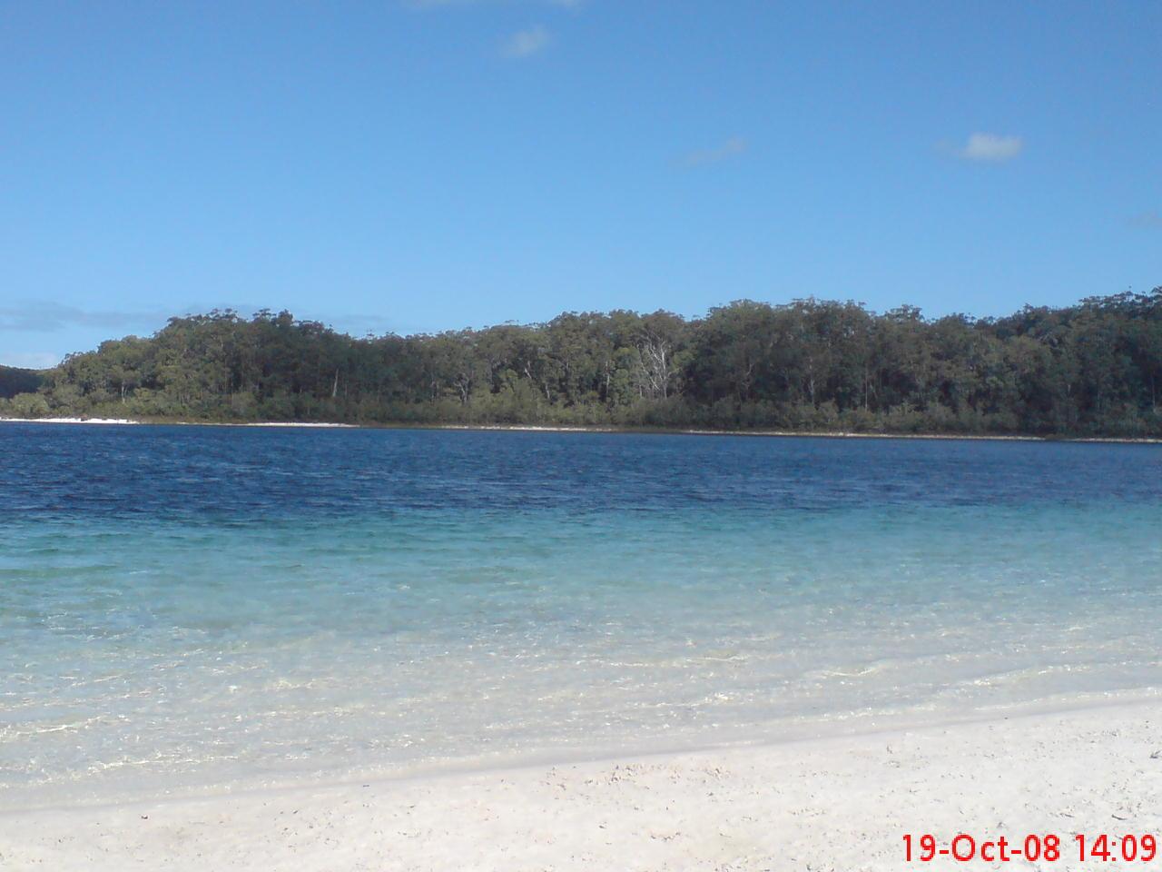 全世界最大的沙岛(fraser  island)