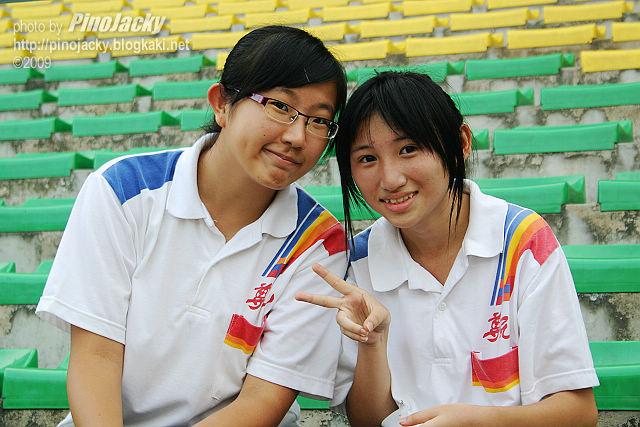 其中兩位熟悉的學生。