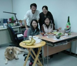 Farewell Party in Office