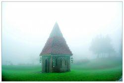 霧鎖清境‧小瑞士花園
